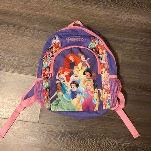 Little girls Disney Princess Backpack